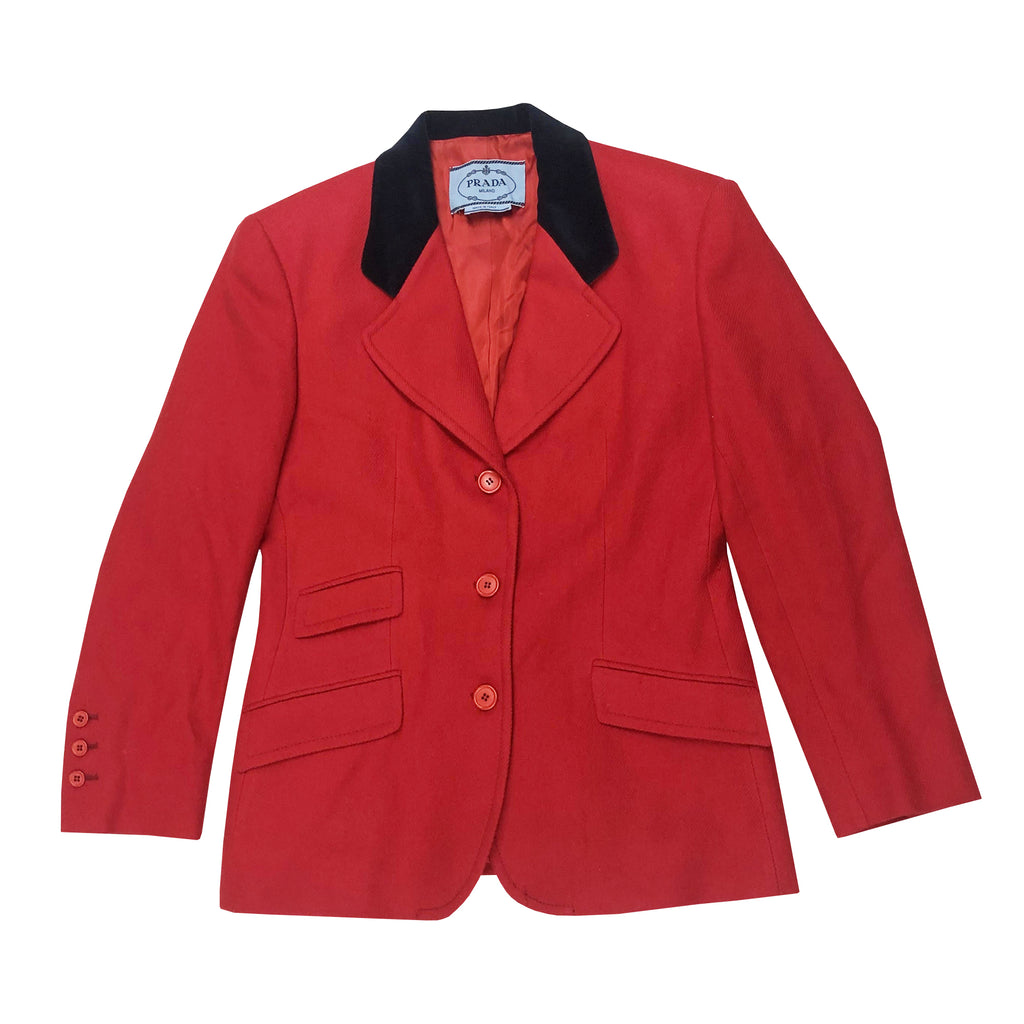 Prada Blazer (Red/Black) UK 10