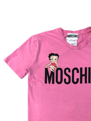 Moschino Betty Boop T-Shirt (Pink) UK 12-14
