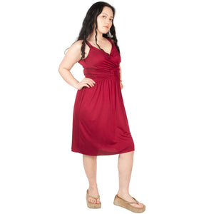 Moschino Silk Dress (Red) UK 6-10