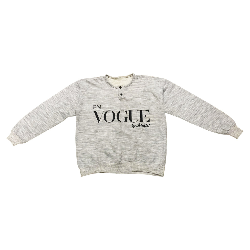 Vintage Vogue Sweatshirt (Grey) UK 8-12
