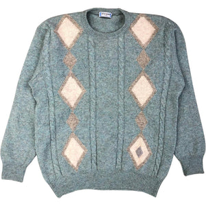Yves Saint Laurent Diamond Jumper (Green) UK 12-14