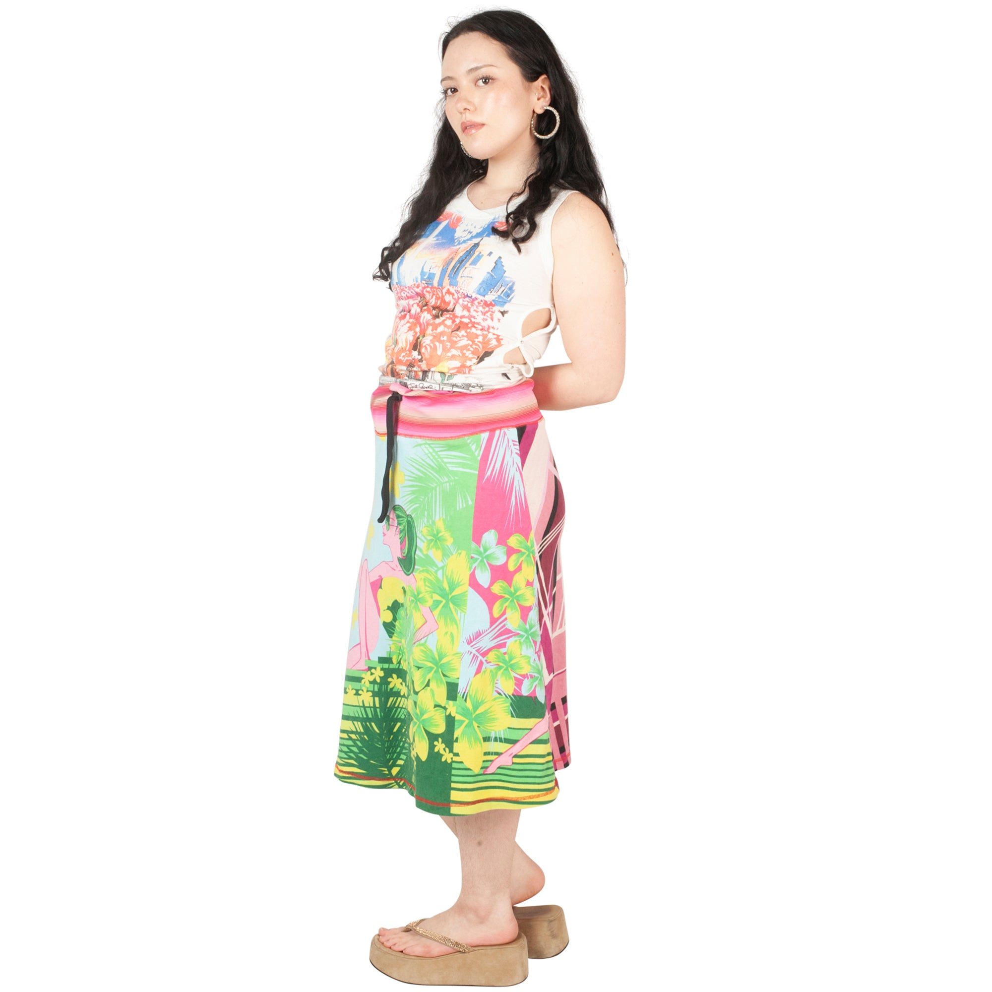 Custo Skirt (Multi) UK 8-12