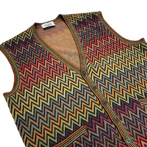 Missoni Knit Vest (Multi) UK 10-16