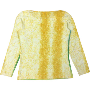 Roberto Cavalli Long Sleeve Top (Multi) UK 6-10