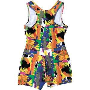 Adidas Cycling Short Bodysuit (Multi) UK 6