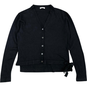 Miu Miu Wool Cardigan (Black) UK 6-8
