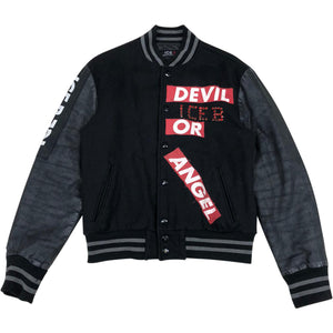 Iceberg Varsity Jacket (Black) UK 10-12