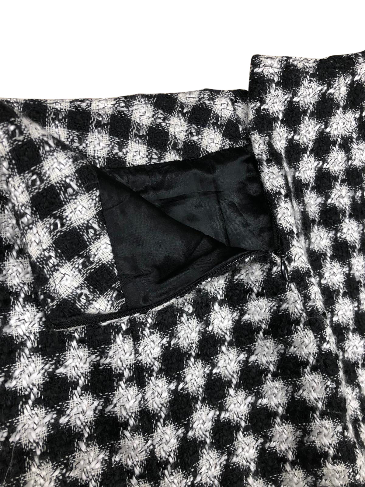 Versace Skirt (Black/White) UK 6