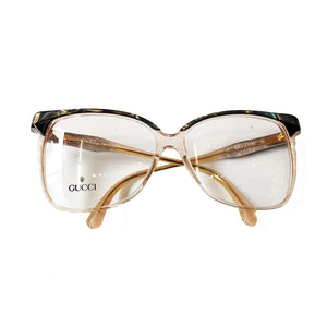 Gucci Clear Glasses (Blue Petrol)