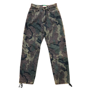Moschino Quilted Trousers (Camo) UK 8