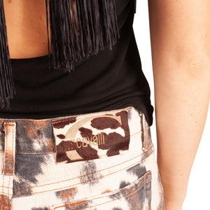 Roberto Cavalli Cropped Jeans (Multi) UK 12