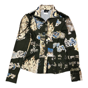 Roberto Cavalli Wave Jacket (Multi) UK 8