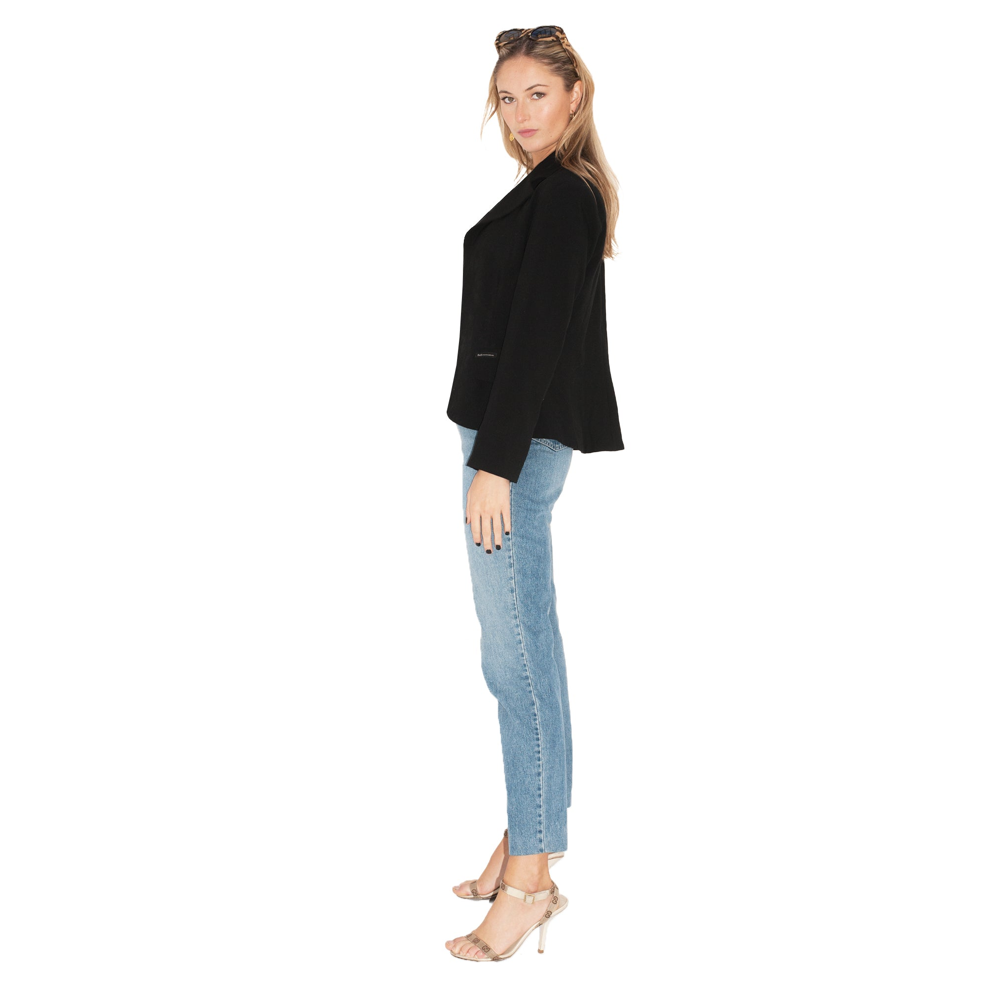 Dolce and Gabbana Blazer (Black) UK 6-10