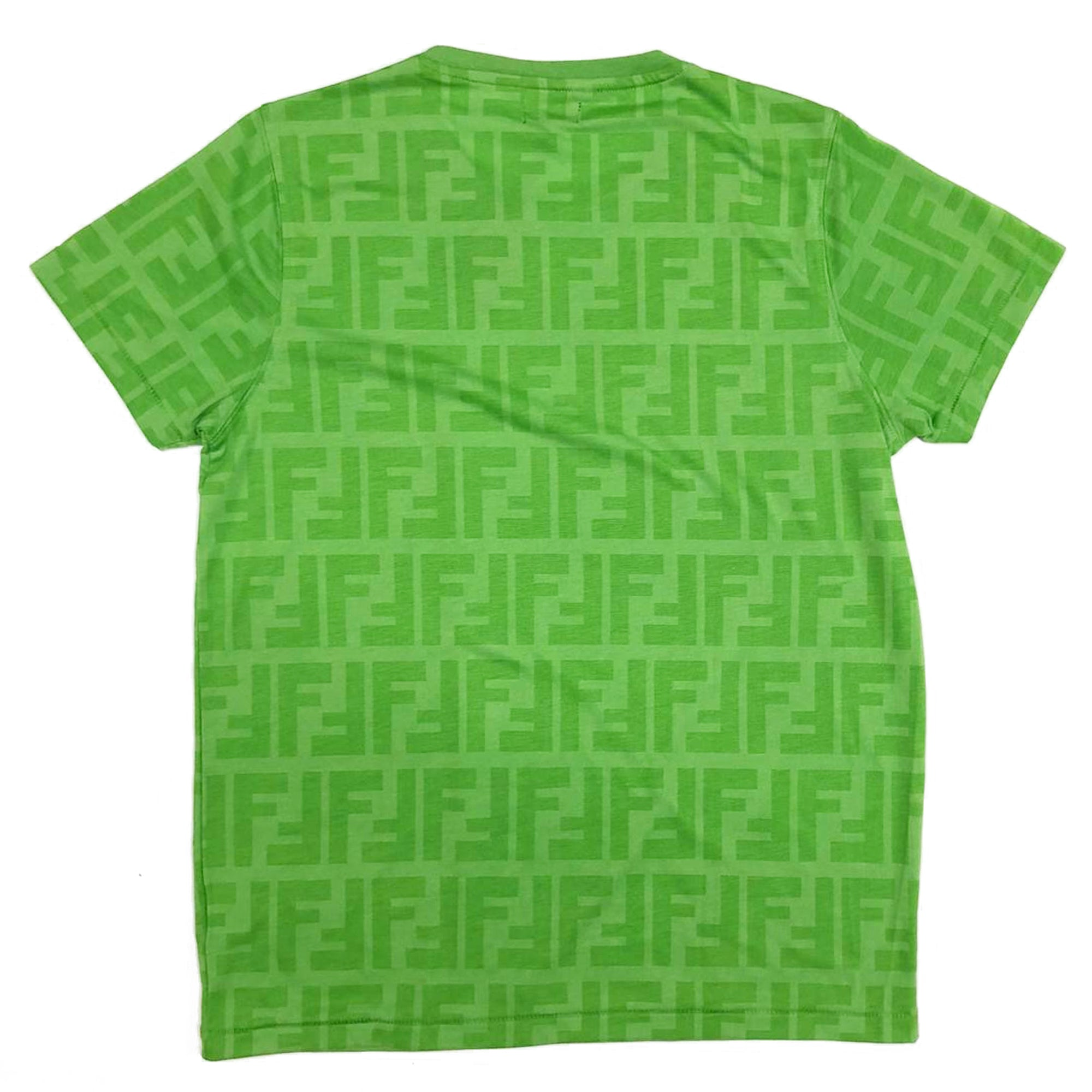 Fendi Zucca T-Shirt (Green) UK 10