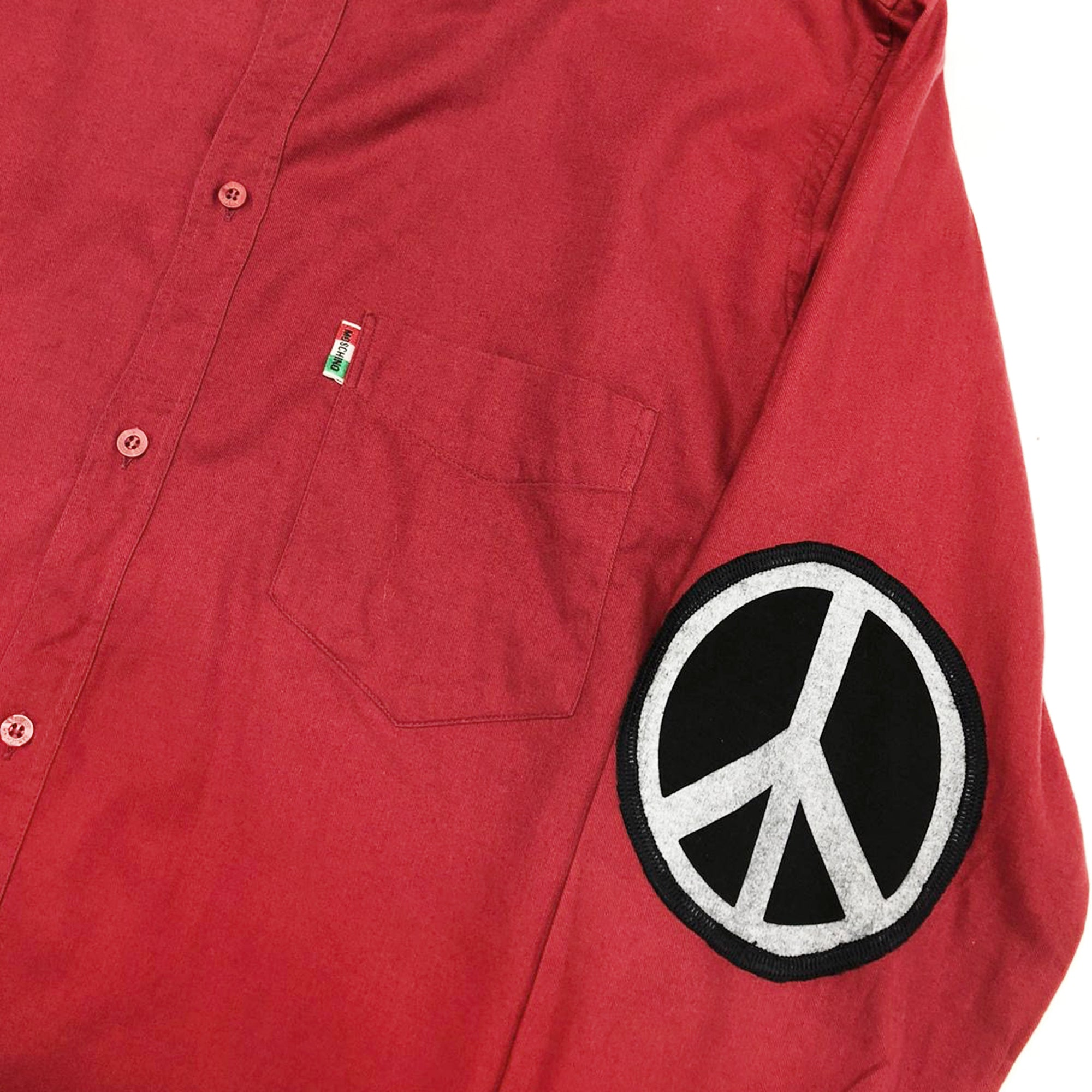 Moschino Peace Shirt (Red) UK 14