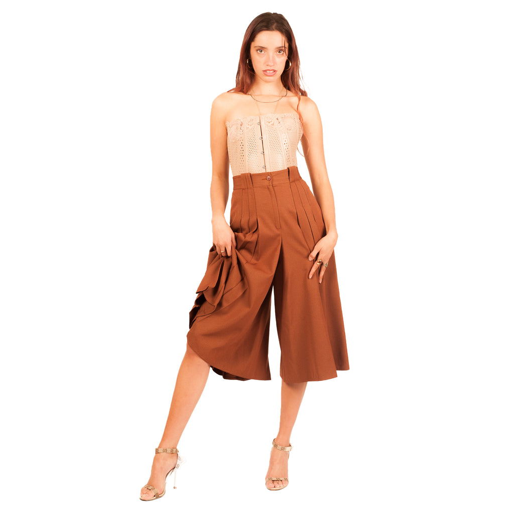 Gianni Versace Culottes (Rust) UK 6