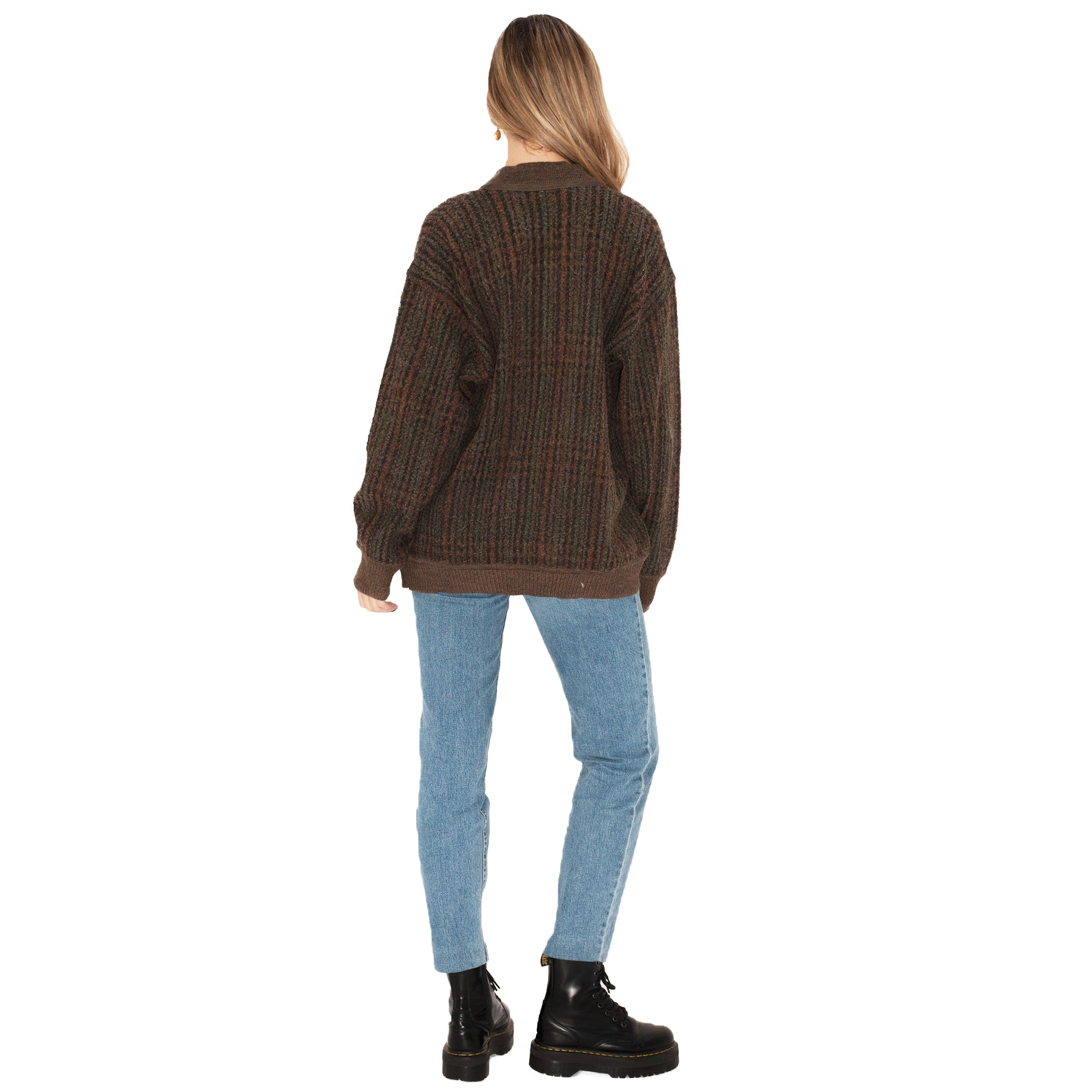 Yves Saint Laurent Cardigan (Brown) UK 8-12