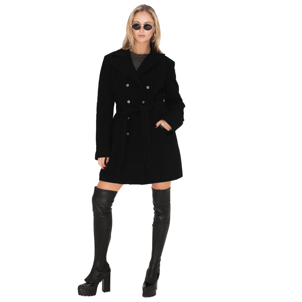 Dolce and Gabbana Trench Coat (Black) UK 10-12