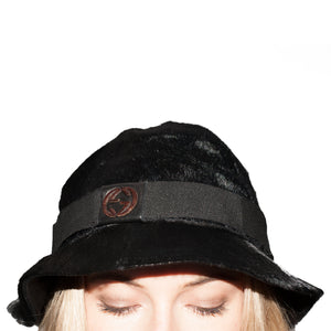 Gucci Fur Bucket Hat (Black) UK OS