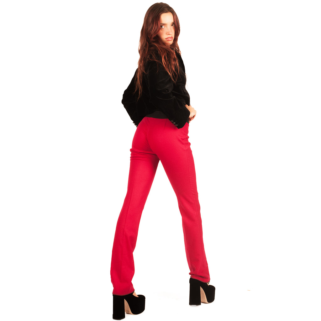 Gucci Trim Pant (Red/Black) UK 6-8