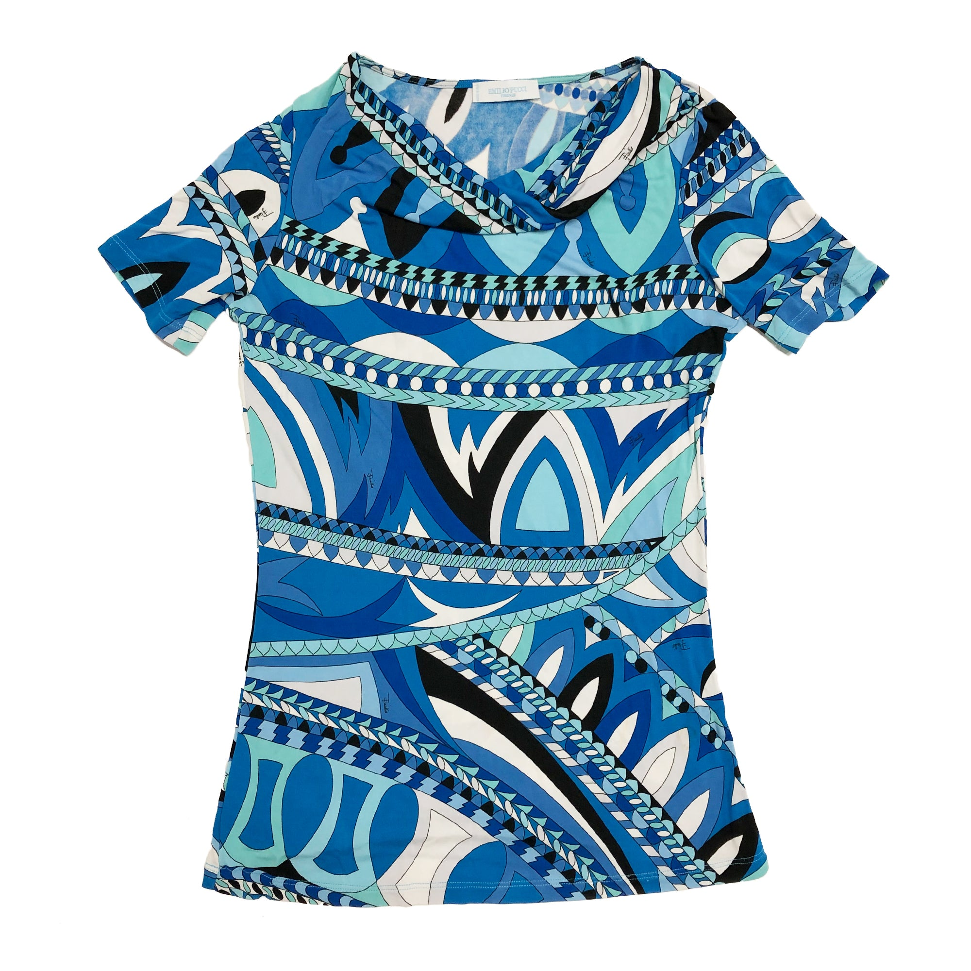 Pucci All Over Print Top (Multi) UK 6/8