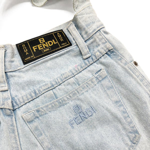Fendi Reworked Denim Bag (Blue) OS