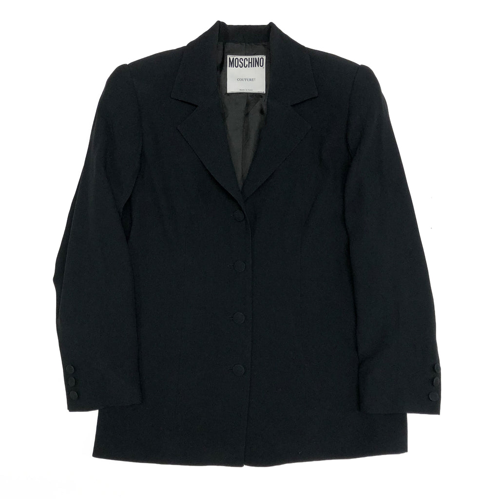Moschino Blazer (Black) UK 8