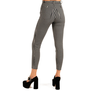 Armani Striped Jeans (Navy/White) UK 6
