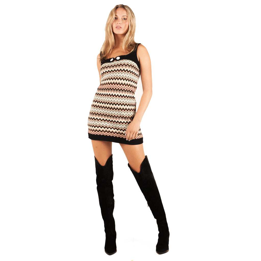 Missoni Knit Mini Dress (Multi) UK 6-10