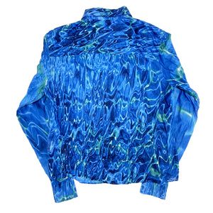 Roberto Cavalli Shirt (Blue) UK 10-12