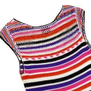 Roberto Cavalli Knit Dress (Multi) UK 10