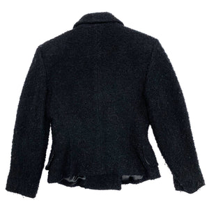 D&G Boucle Wool Blazer (Black) UK 10