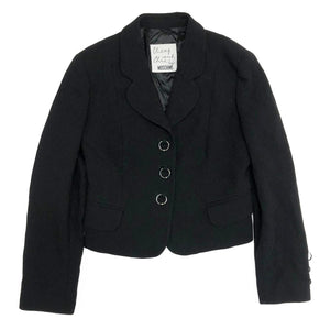 Moschino Ring Blazer (Black) UK 10-12