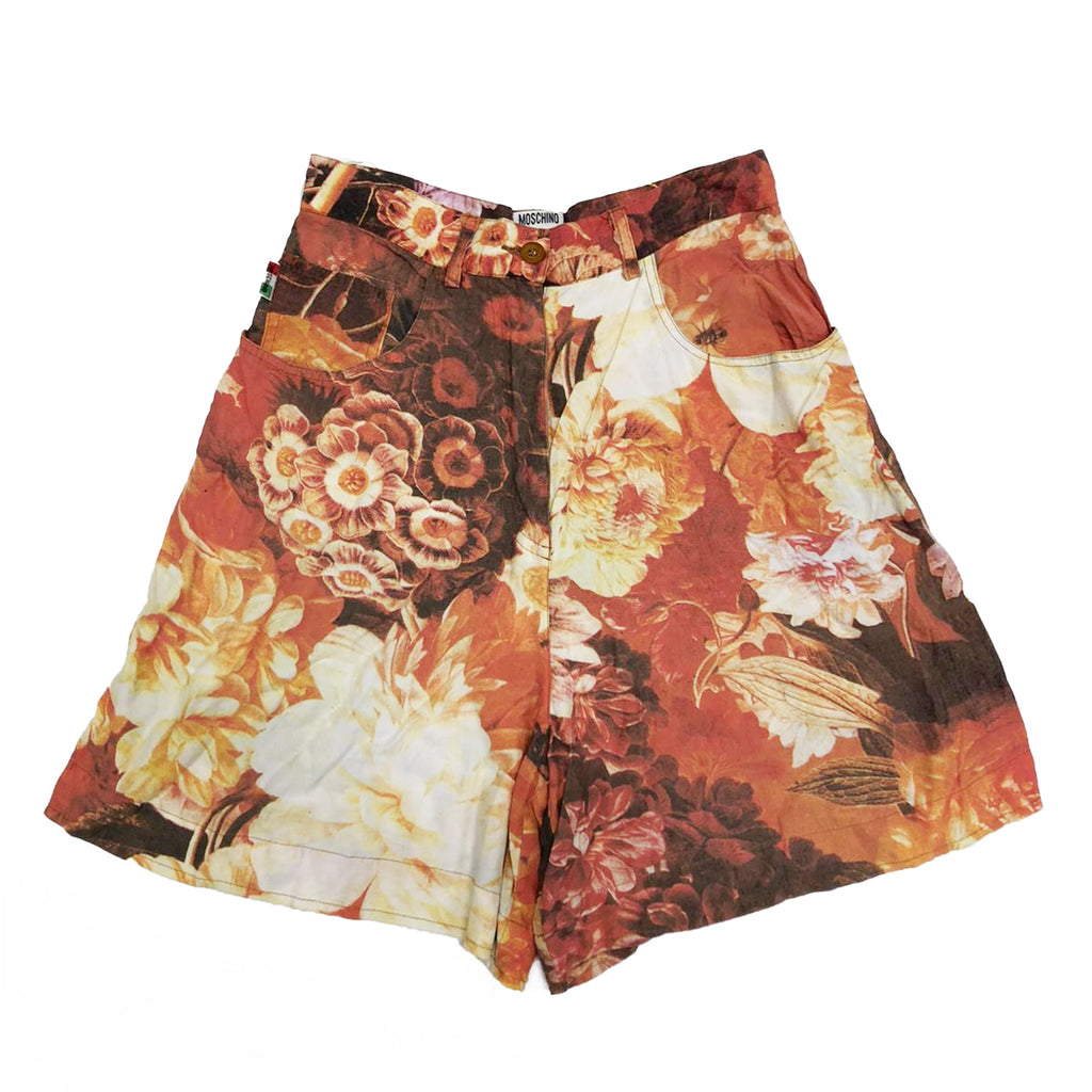 Moschino Shorts (Floral) UK 8-10