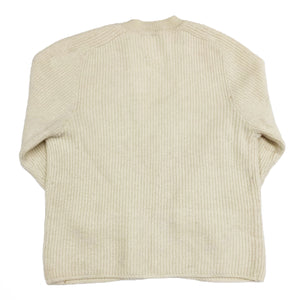 Gianni Versace Rib Cardigan (Cream Sparkle) UK 10-14