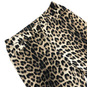Moschino Leopard Pant (Multi) UK 8/10