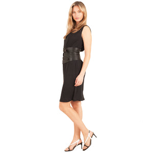 Versace Classic V2 Dress (Black) UK 8-10