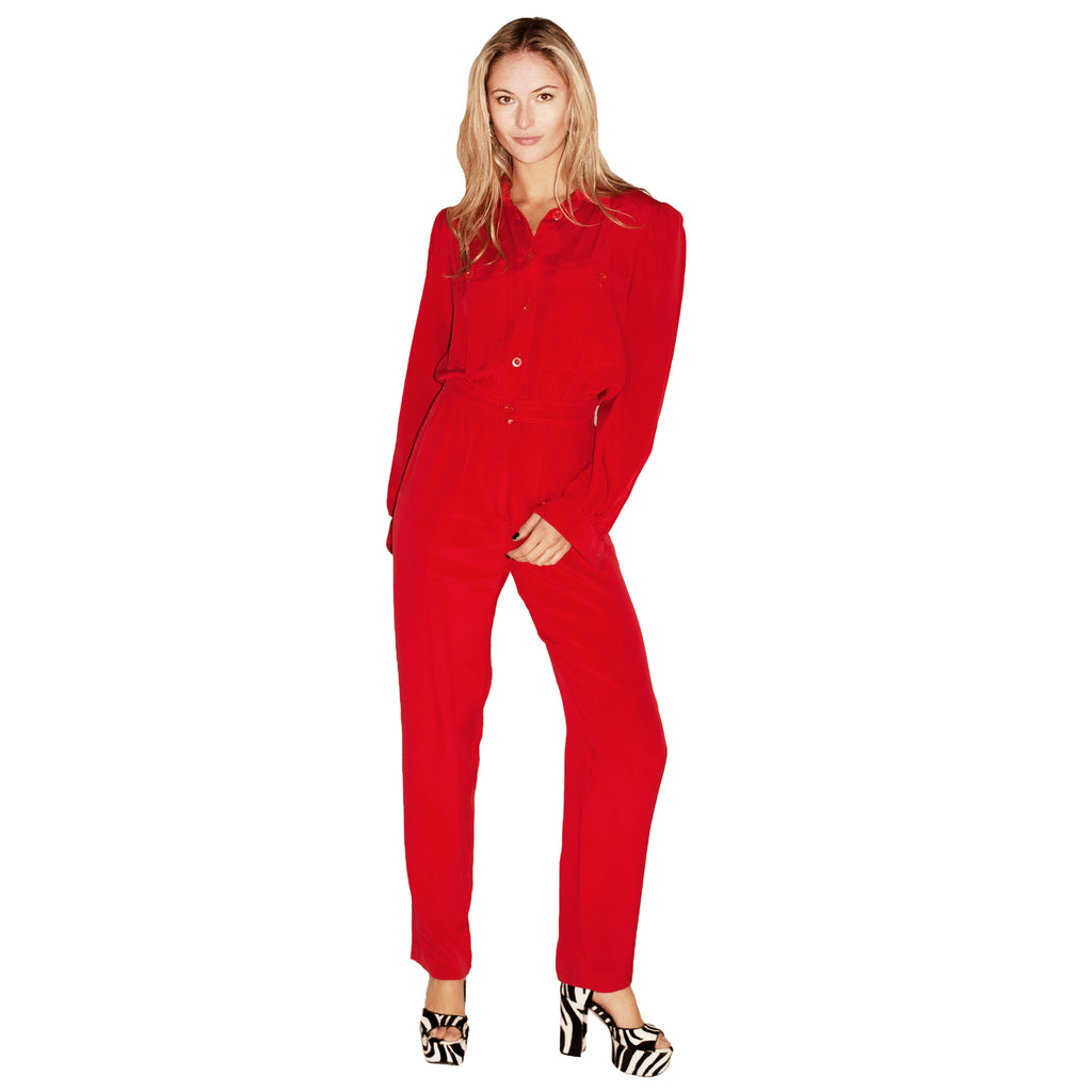 Escada Jumpsuit (Red) UK 8-10