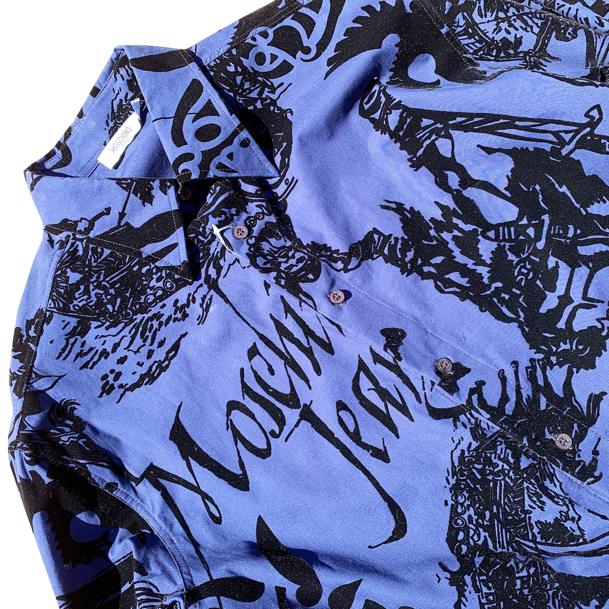 Moschino Warriors Shirt (Blue) UK 10-14