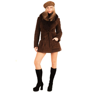 Fur Coat (Brown) UK 6-10