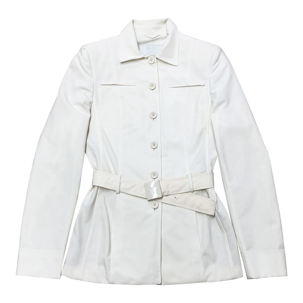 Prada Jacket (White) UK 8
