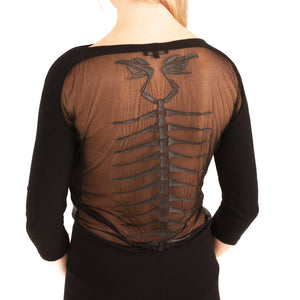 Roberto Cavalli Skeleton Dress(Multi) UK 6-8