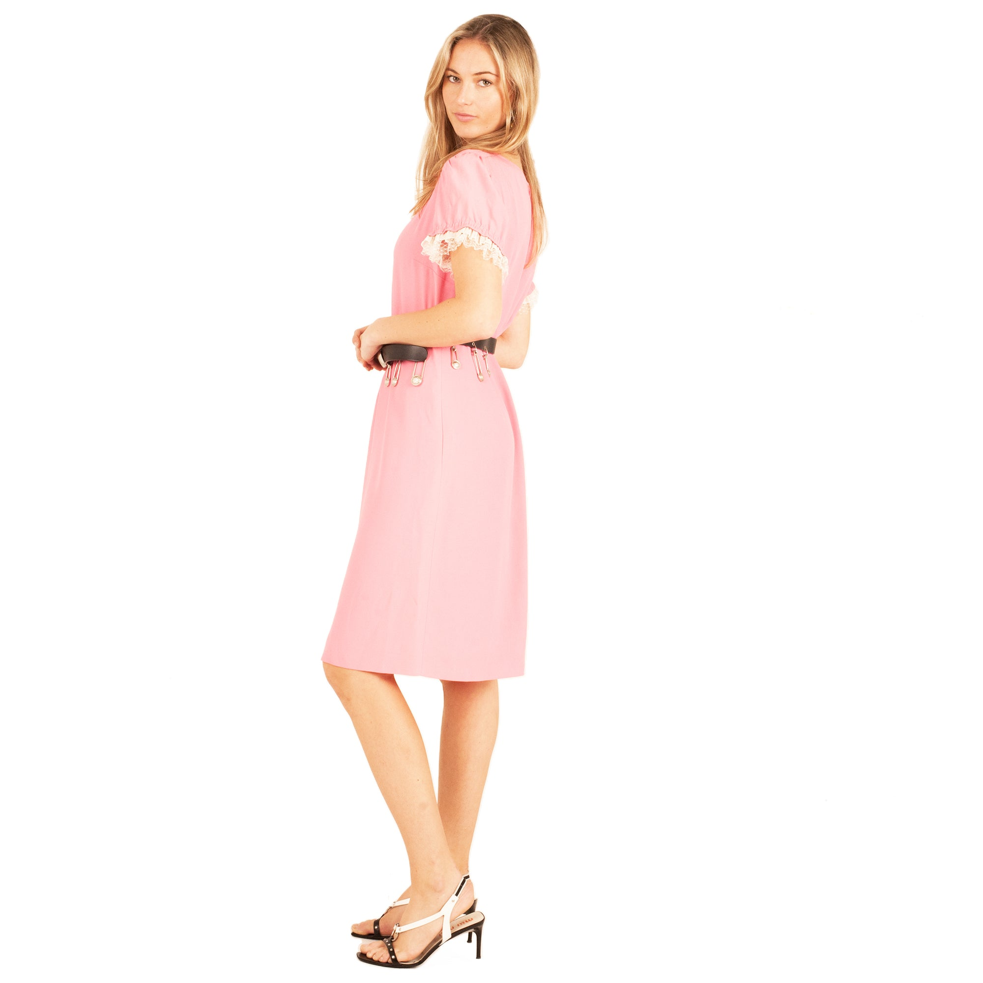 Valentino Dress (Pink) UK 8-10