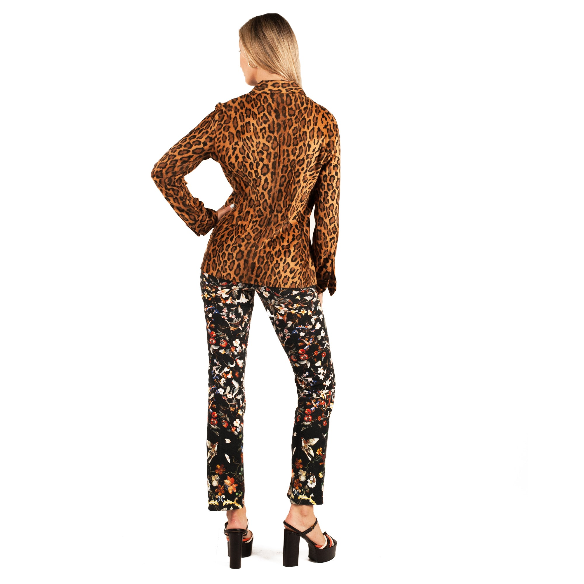 Gianfranco Ferre Shirt (Leopard) UK 8-10