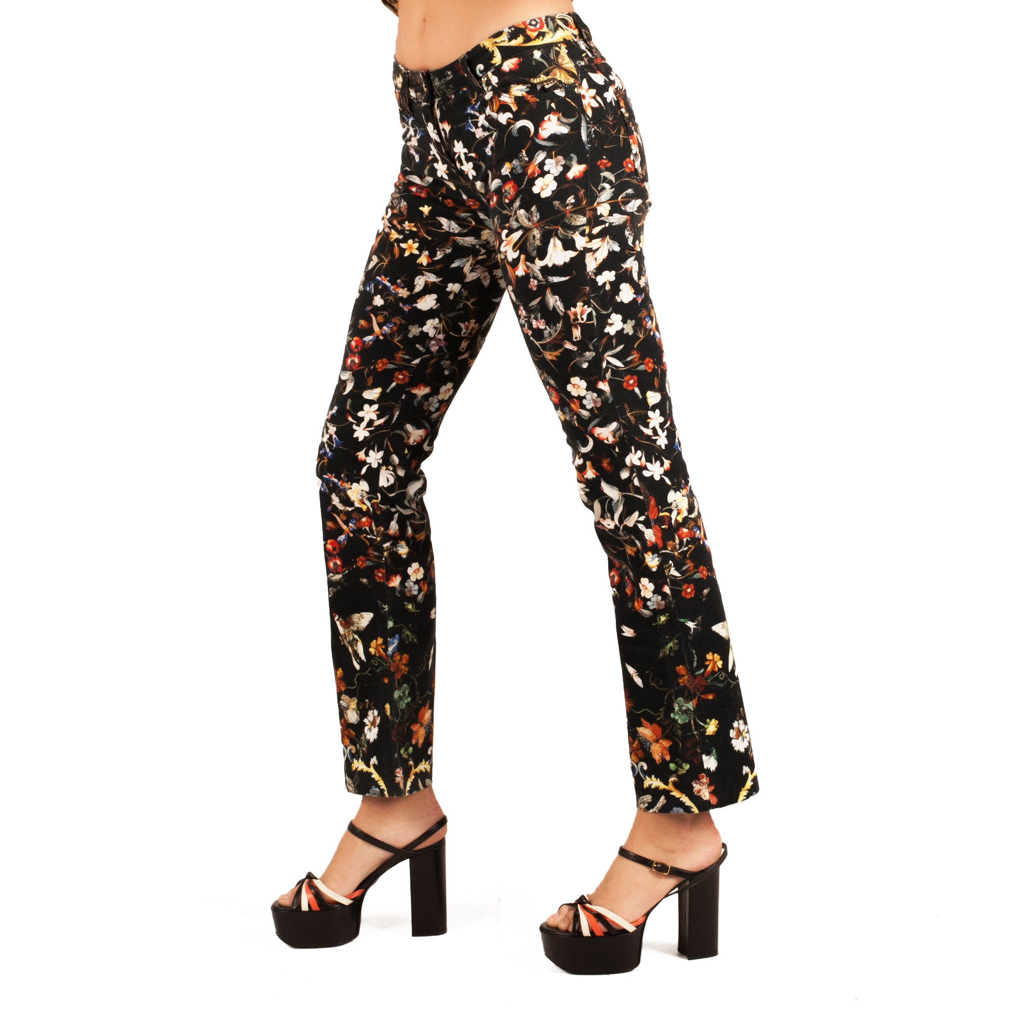 Roberto Cavalli Jeans (Floral) UK 10