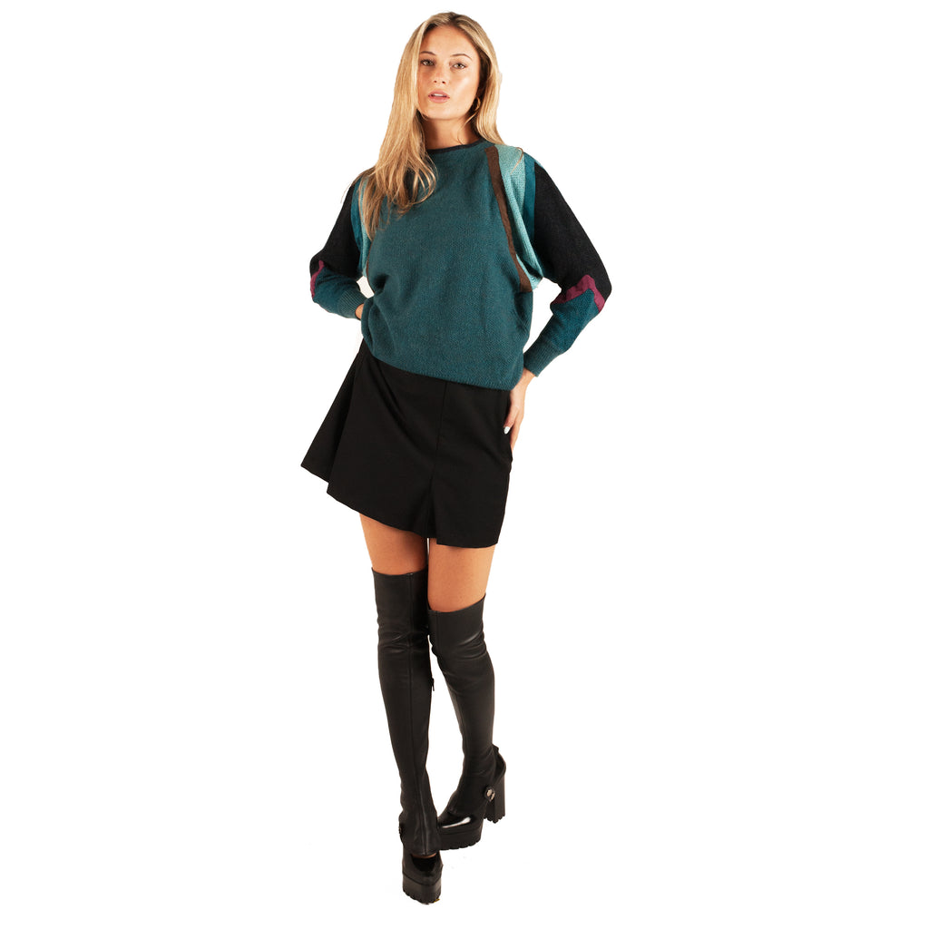 Gianni Versace Sweater (Teal) UK 6-10