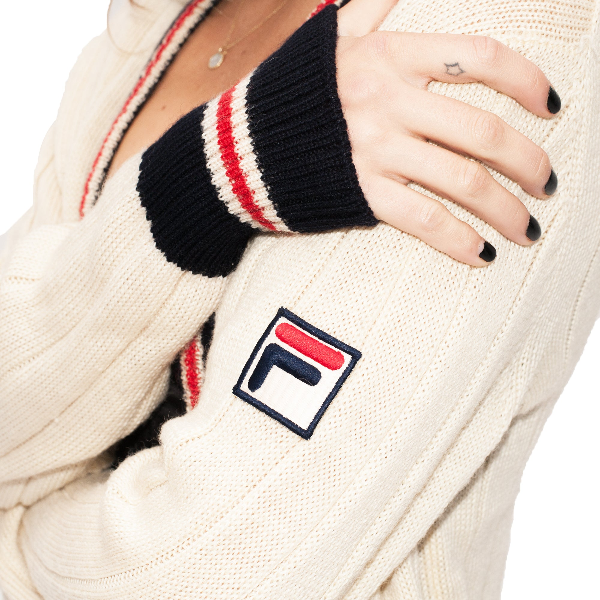 Fila Cardigan (Cream) UK 6-10