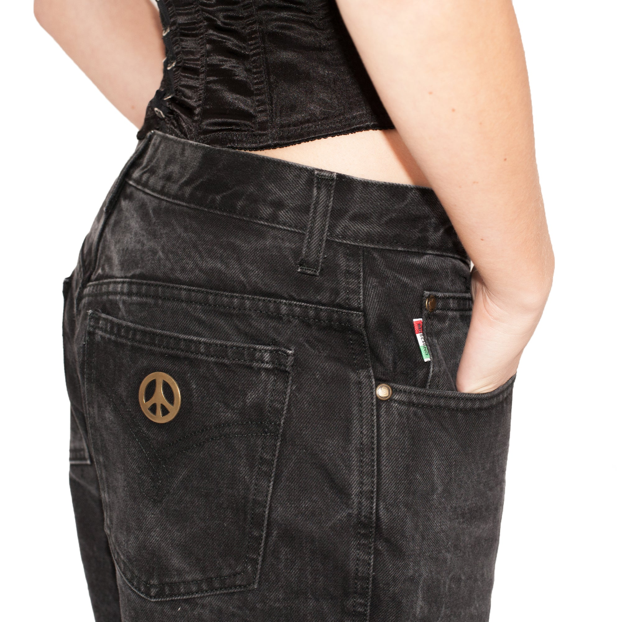 Moschino Jeans (Black) UK 12