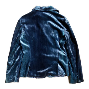 Iceberg Velvet Jacket (Blue) UK 6-10
