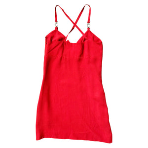 Versace Slip Dress (Red) UK 6-10